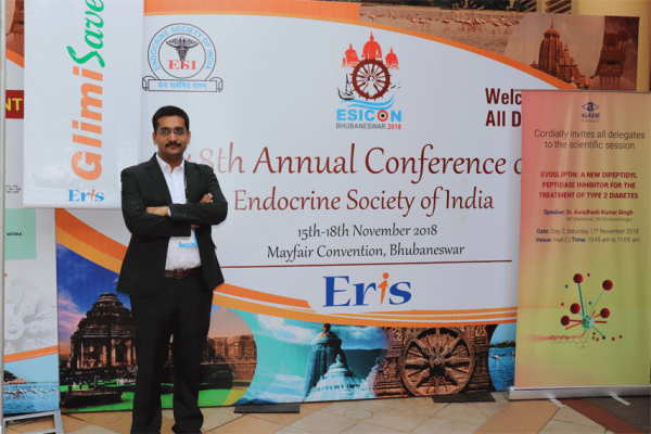 Dr Saurabh Gupta at ESICON 2018