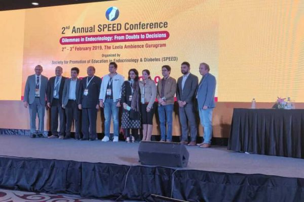 EWS team members Dr Sanjay Kalra & Sachin Gaur at SPEEDCON 2019